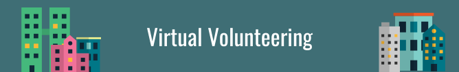 Virtual Volunteering Banner